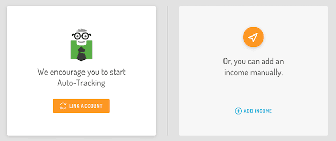Hurdlr - linking your accounts is a premium feature
