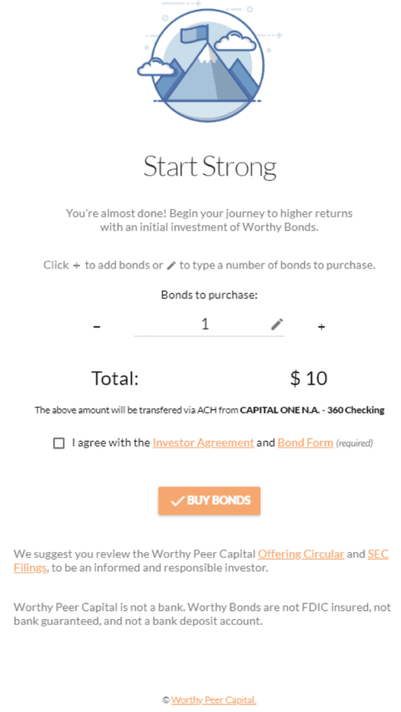 Worthy Bonds Review: Fixed 5% Interest On As Little As $10