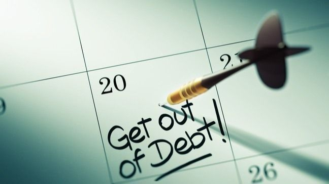 Get Out Of Debt In One Year