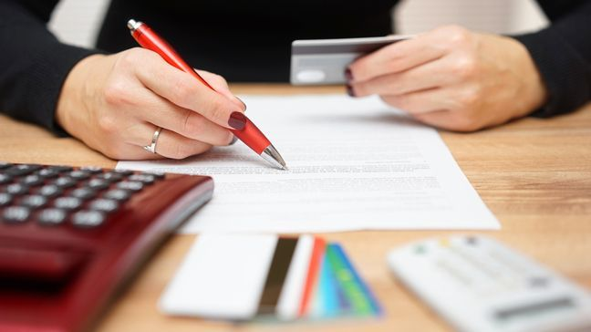 Financial New Year's Resolutions - Pay off your credit card debt