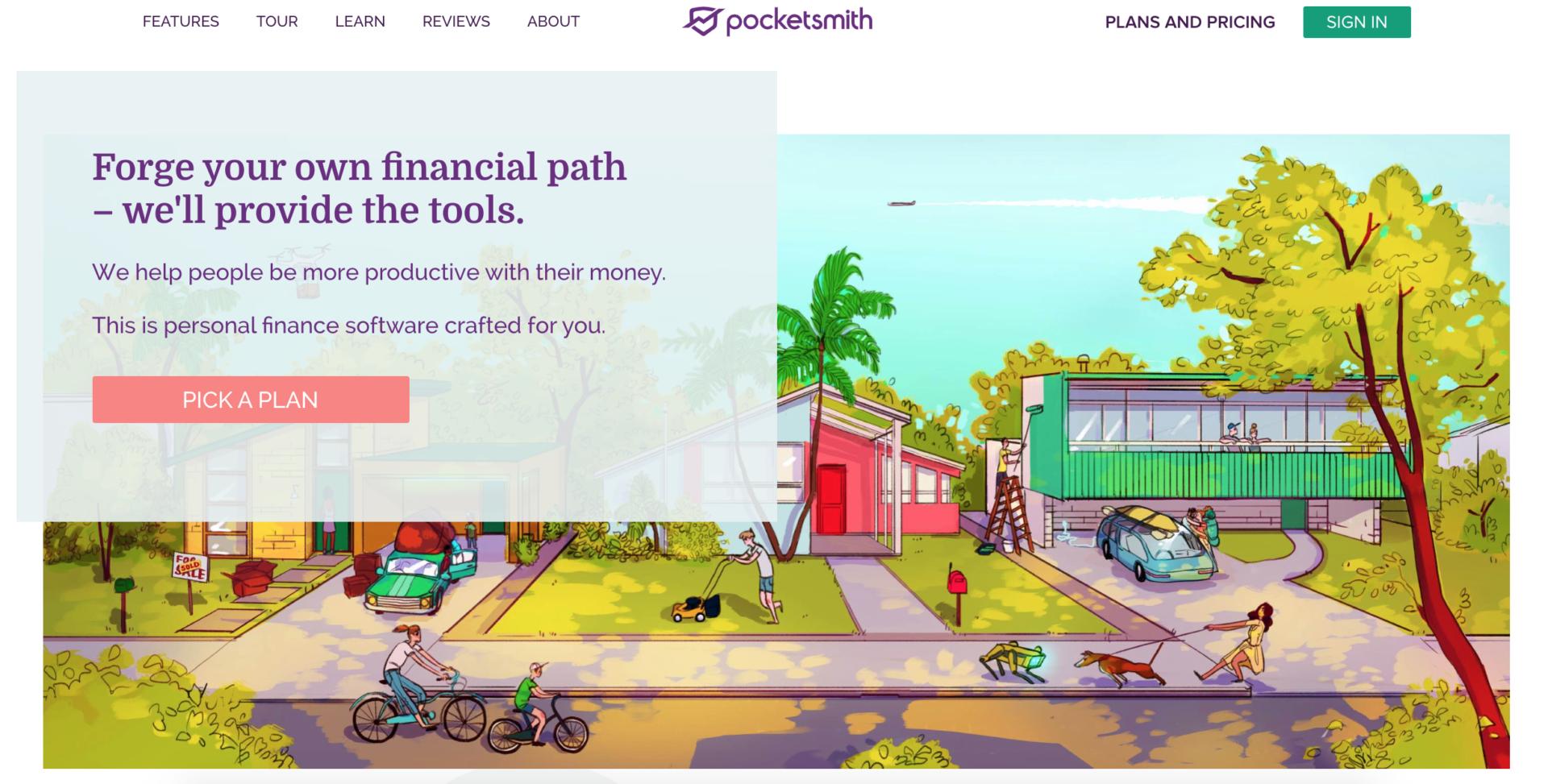 Quicken Alternatives - Pocketsmith