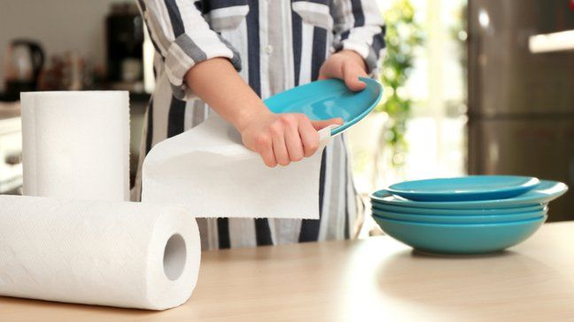 Stretch Your Budget Further By Eliminating Disposable Products - Paper towels