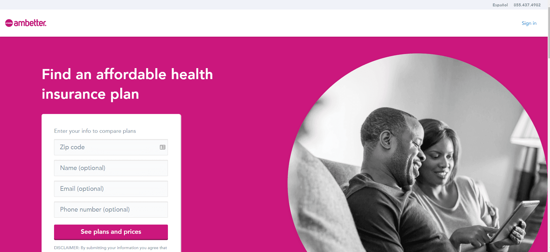 Ambetter insurance: My experience with Ambetter - front page