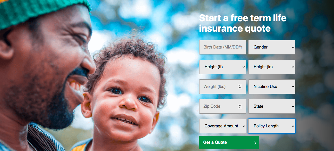 Banner Legal and General Life Insurance Review: Life Insurance The Easy, Affordable Way - Start a Free Term Life Insurance Quote