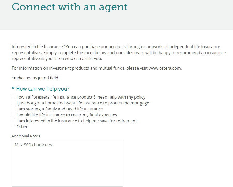 Foresters Review: Is It The Right Life Insurance Company For You? - Connect with an agent