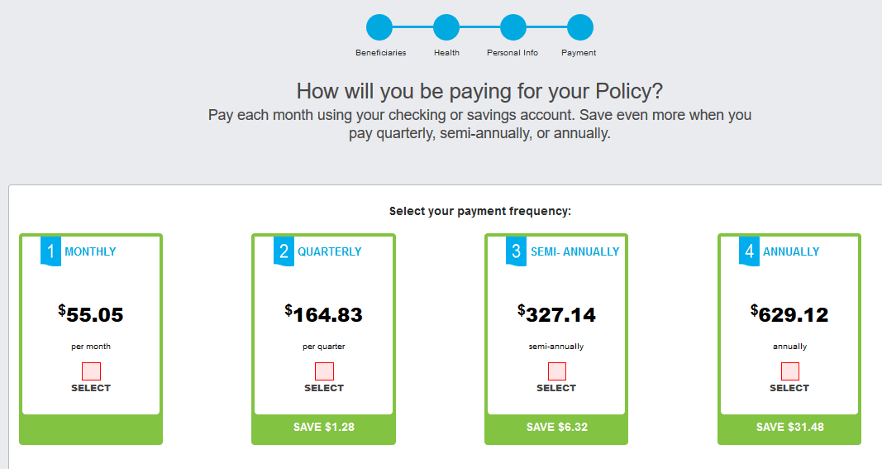 Sagicor Review: A Fast Online Life Insurer With No Exam - How Do You Pay For Your Policy?