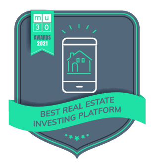 MU30's 2021 Awards - The Best Financial Products On The Market - Best Real Estate Investing Platform