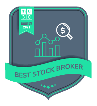 MU30's 2021 Awards - The Best Financial Products On The Market - Best stock broker