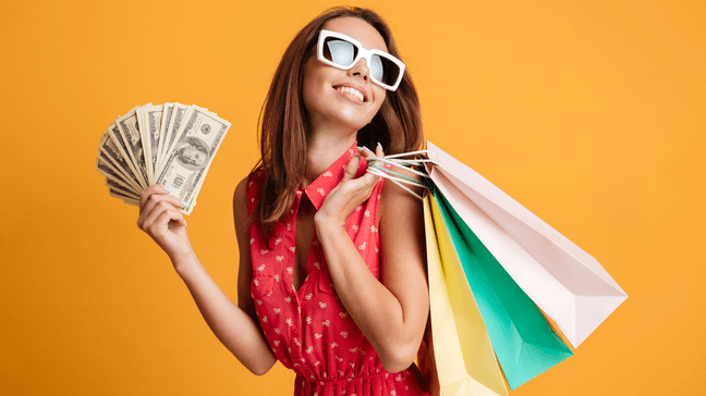 """8 Ways To Stay Happy On A Budget - Set aside some """"fun money"""""""