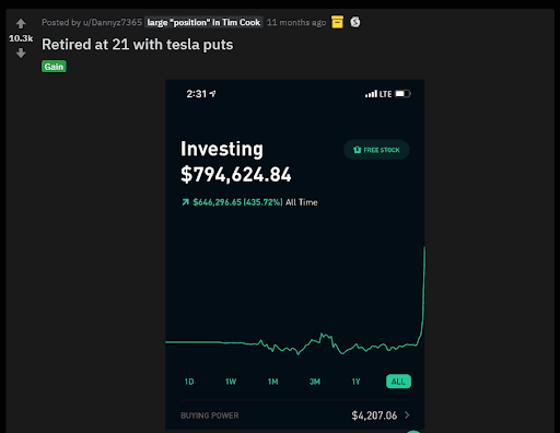 What Is r/wallstreetbets, And Should You Take Their Investing Advice? - Gains post