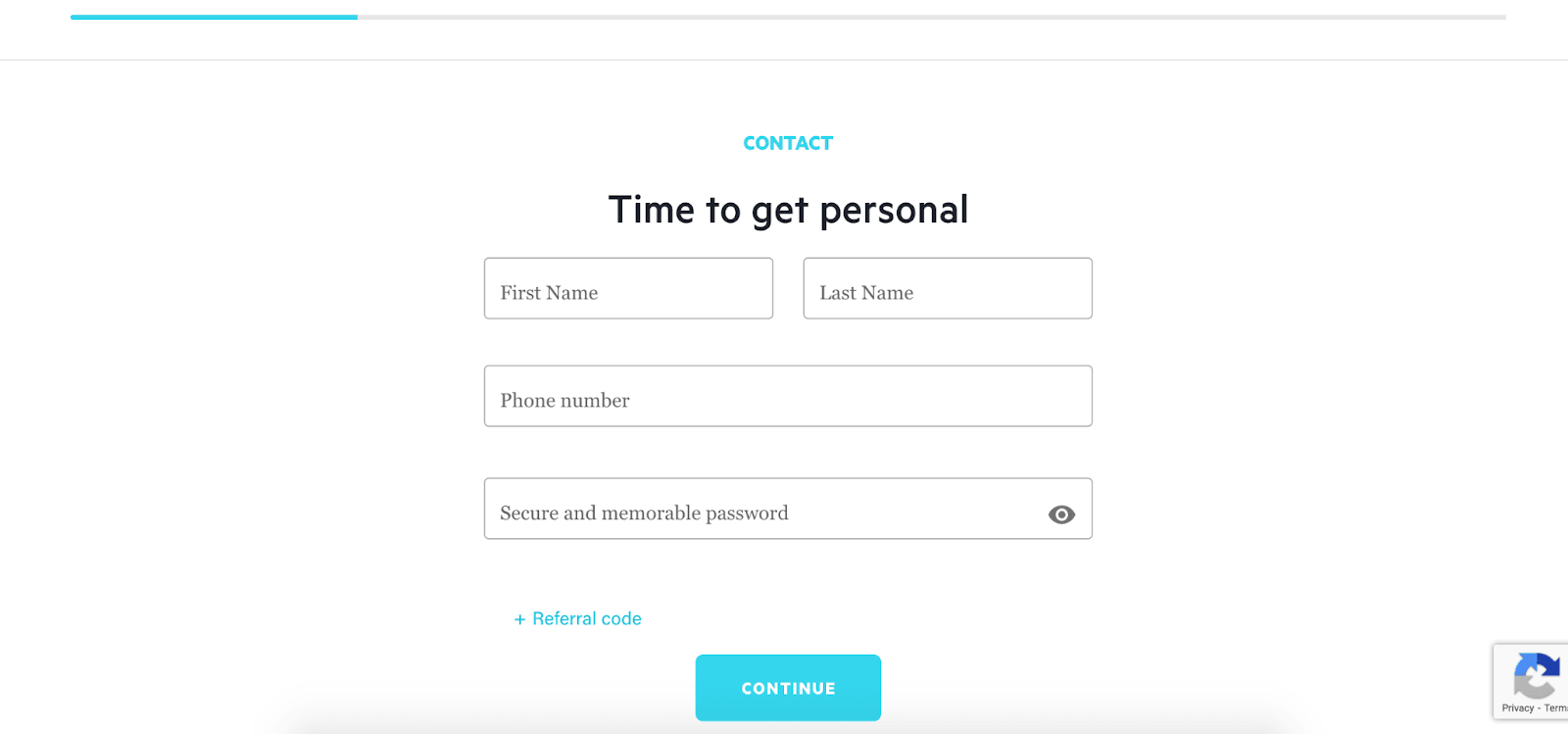 Lili Review: Mobile Banking For Freelancers - Personal information
