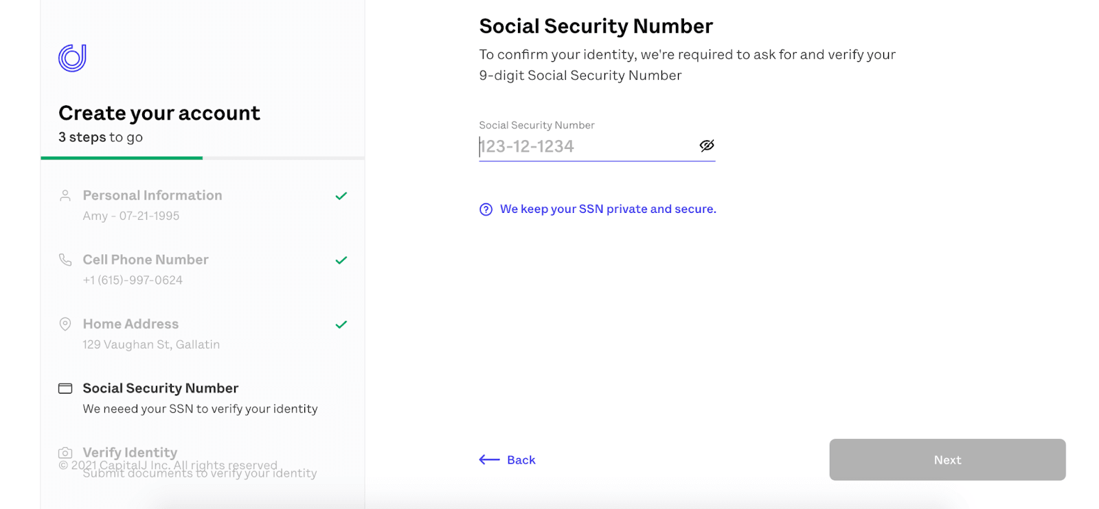 OnJuno Review: Earn An Unprecedented APY Without Sacrificing Your Money To Fees - Social security number