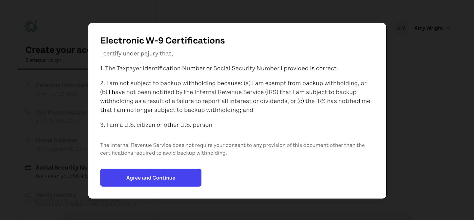 OnJuno Review: Earn An Unprecedented APY Without Sacrificing Your Money To Fees - Agree and continue