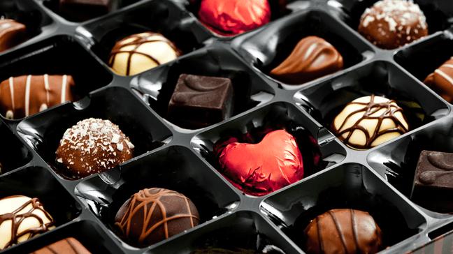 10 Surprising Chocolate Money Facts - Americans spend around $2.4 billion on chocolate for Valentine's Day
