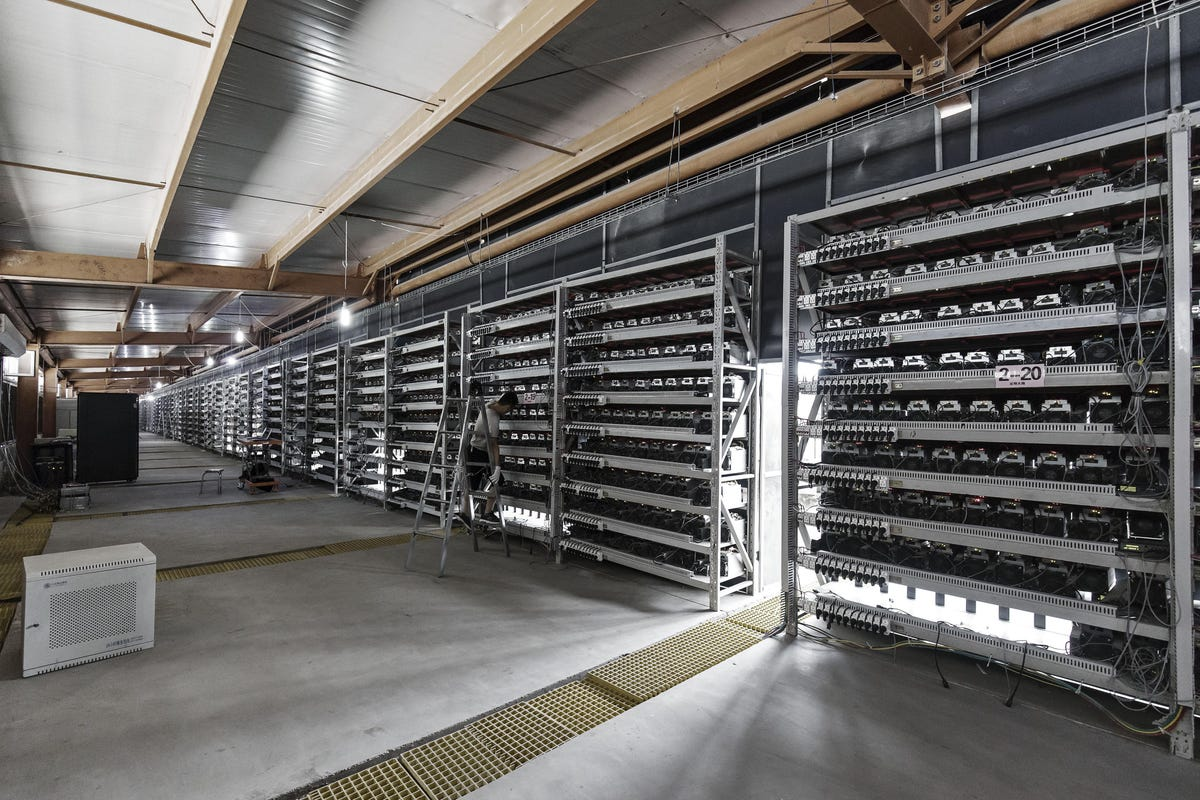 What Is Bitcoin Mining? An Interview With A Crypto Miner - Bitcoin farm